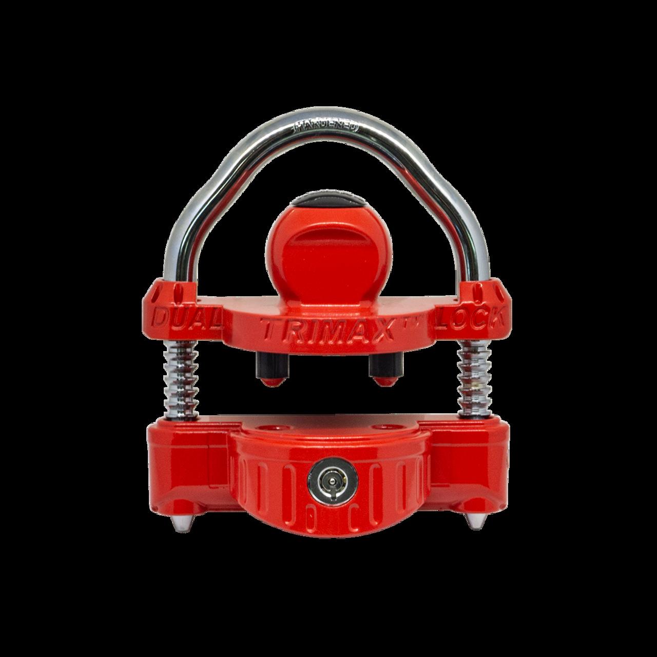 UMAX25DKEYED --- Trimax™ Universal Dual Trailer Coupler Lock - Keyed Alike