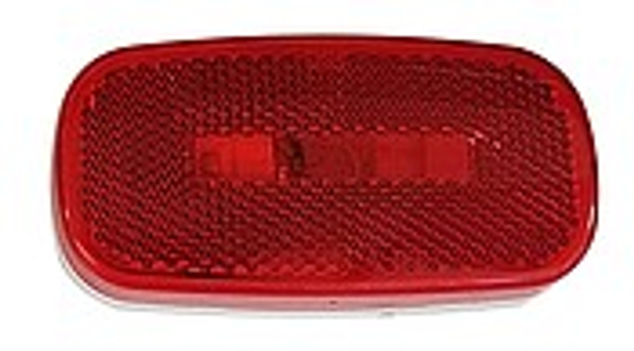108R --- Rectangular Clearance/Side Marker Light with Reflex