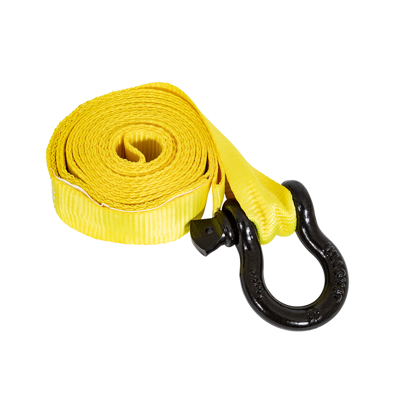 5483505 --- Tow Strap with Loop/Shackle Ends - 12'