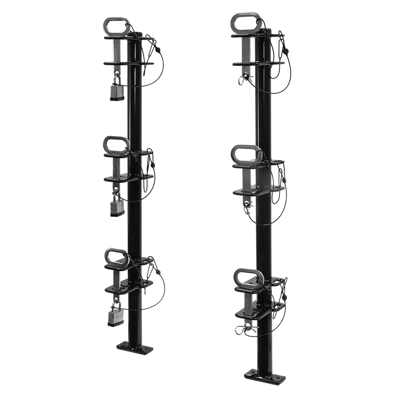 LT13 --- Lockable Three Trimmer Rack