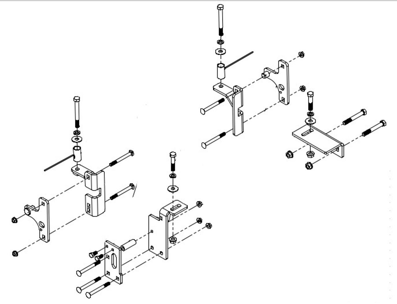 8552036 --- Demco Rail Kit - Premier or Ultra Series