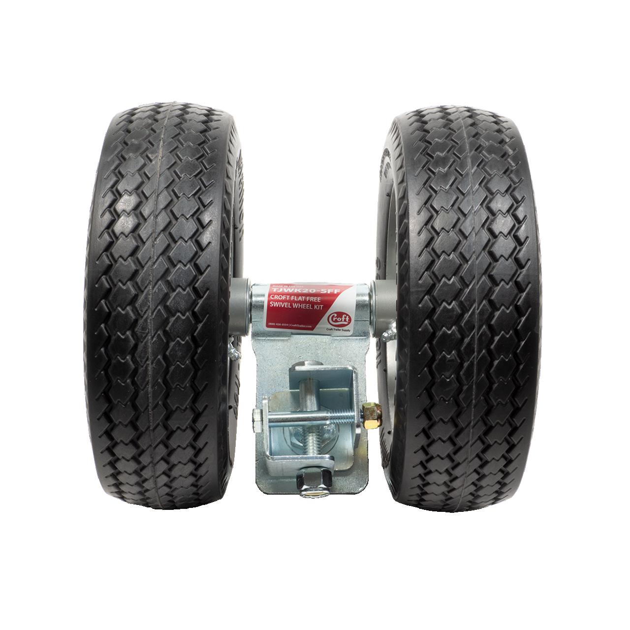 TJWK20-SFF --- Croft Flat-Free Wheel Kit with Swivel Feature