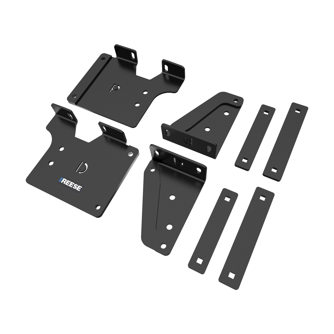 56023 --- Fifth Wheel Trailer Hitch Outboard Bracket Kit for Chevy 2500/3500 Pickups