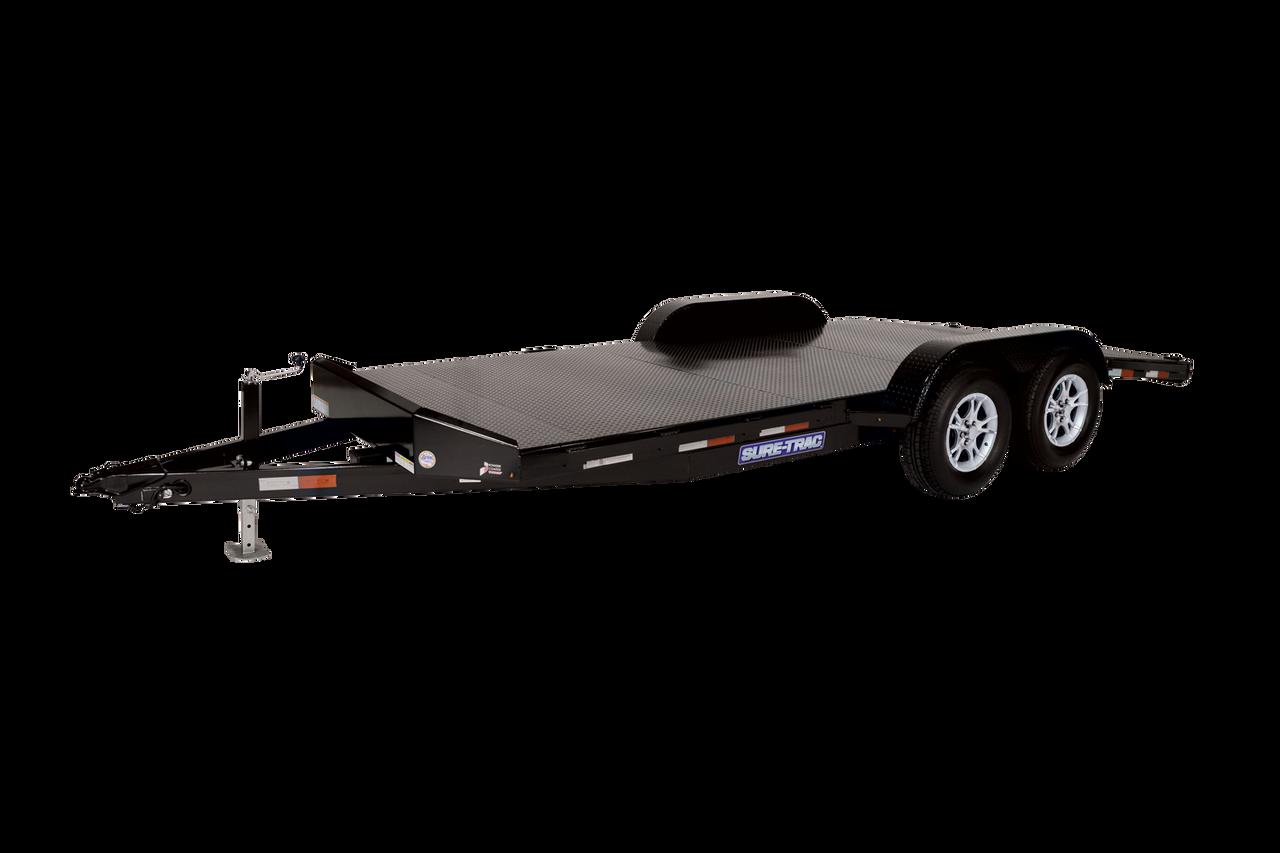 """STCH8220SDTA3 --- 82"""" x 20' Steel Deck Car Hauler"""