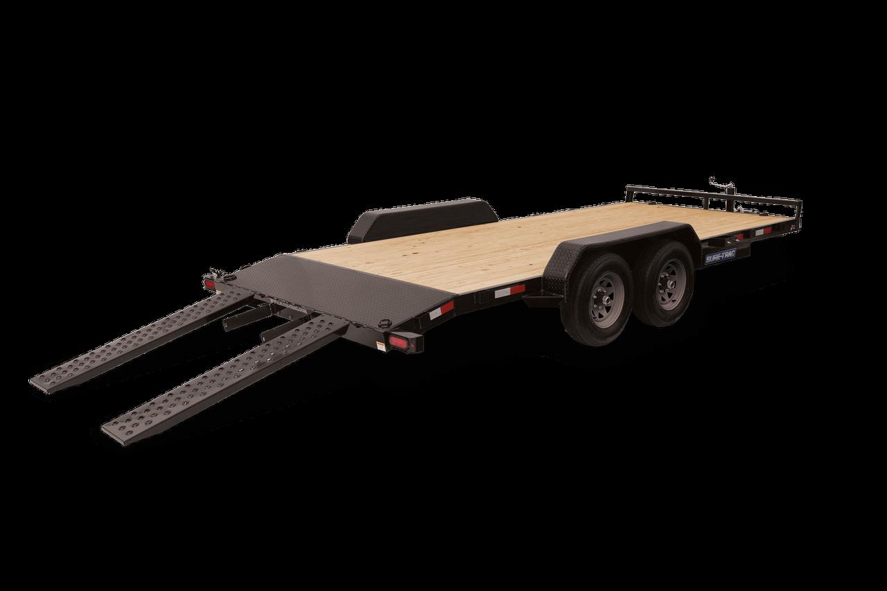 "STCH8220TA3 --- 82"" x 20' Beavertail Car Hauler"