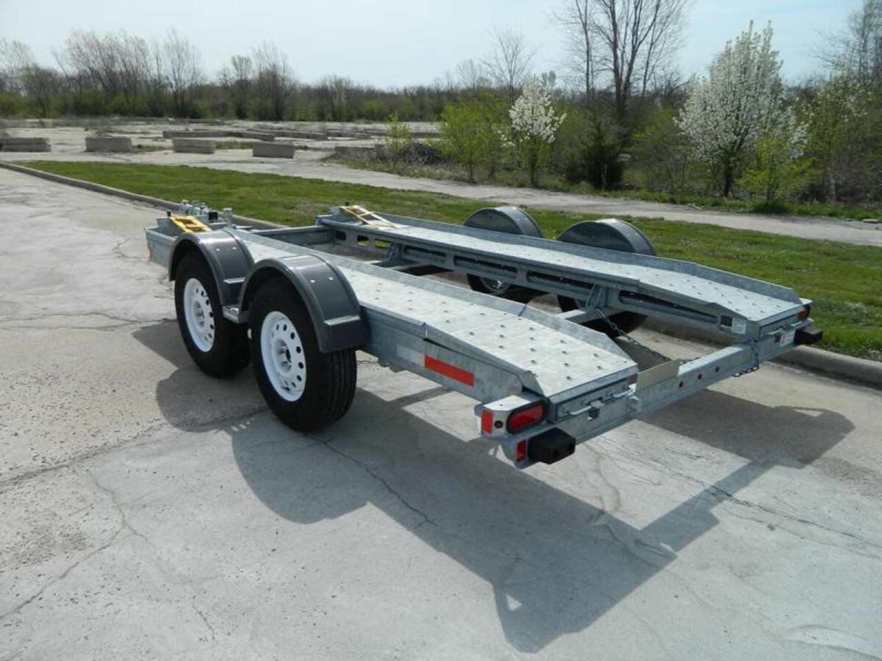 AT7000C --- 2018 Galvanized Croft Auto Transport - 7k #C1020
