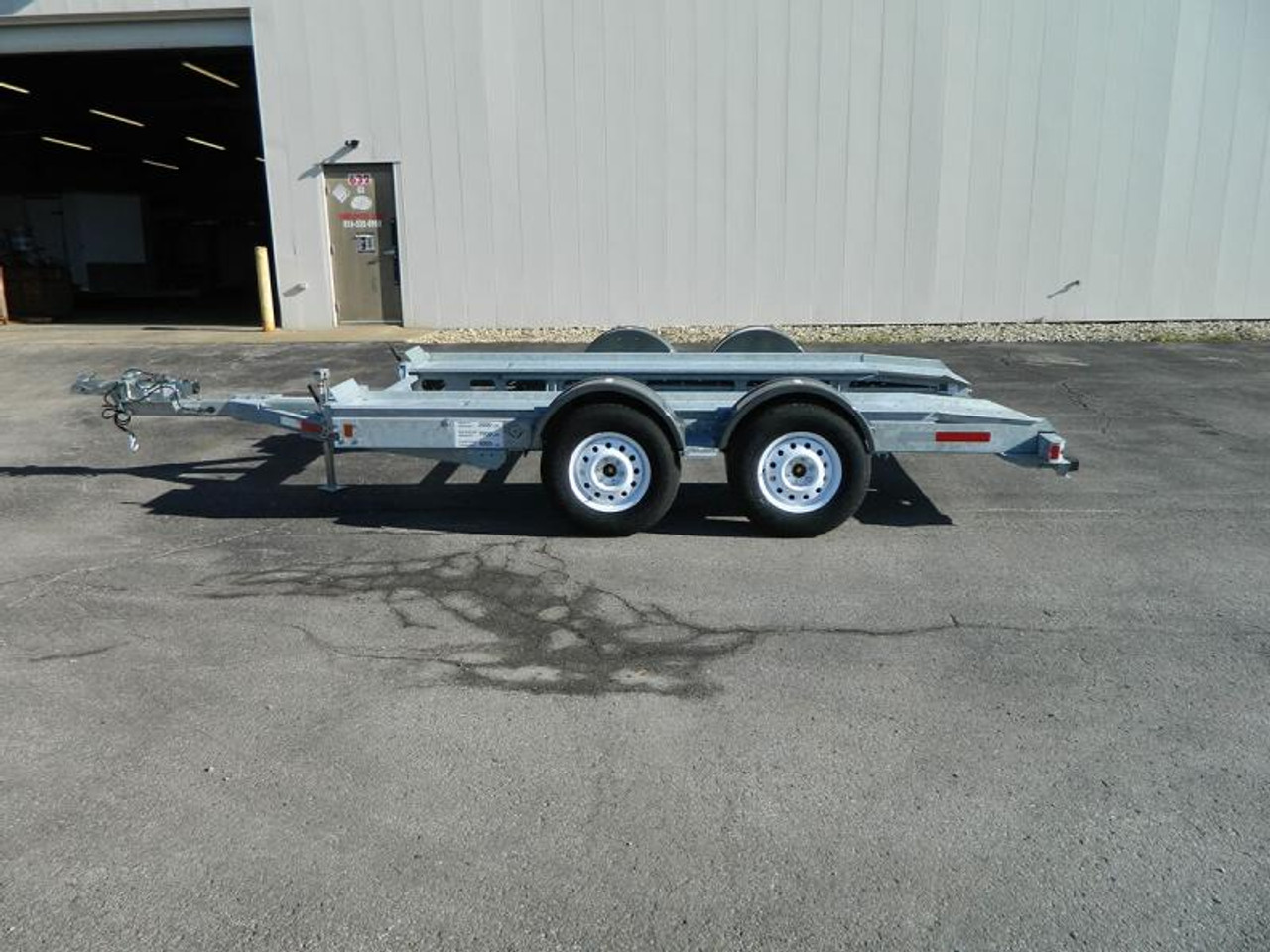 AT7000C --- 2018 Galvanized Croft Auto Transport - 7k #C1021