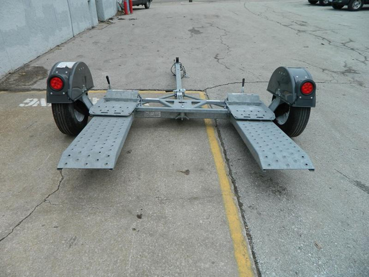 CGTD76 --- 2020 Croft Galvanized Tow Dolly - No Brakes #C0244
