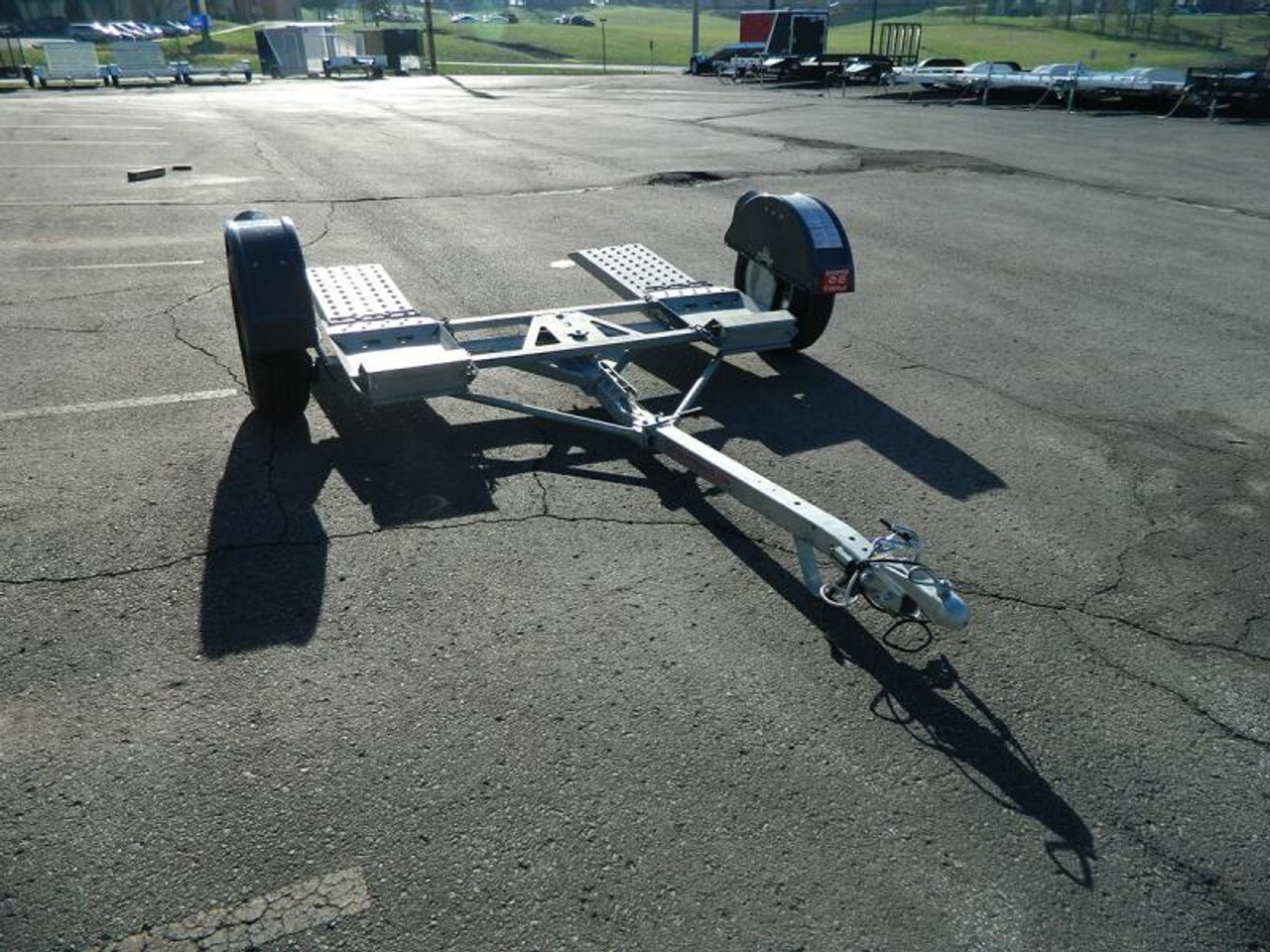 CGTD76 --- 2020 Croft Galvanized Tow Dolly - No Brakes #C0313