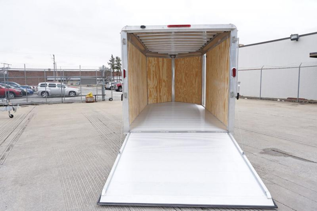 AL714TA2DRD --- Aluma 7'x14' Tandem Axle Enclosed w/ Ramp Door #AL6137
