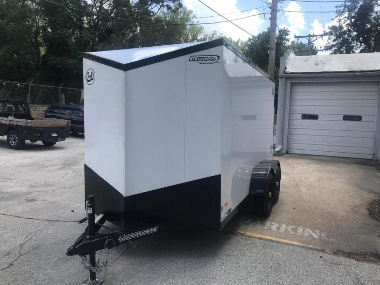SC612TA2DRDMN --- 2020 Bravo 6'x12' MN Enclosed w/ Ramp Door - MIDNIGHT EDITION! #BR2998
