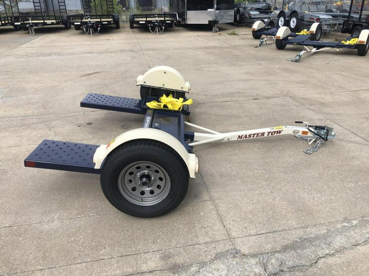 MT80EB --- 2021 Master Tow 80 Car Dolly - Electric Brakes #MT4296