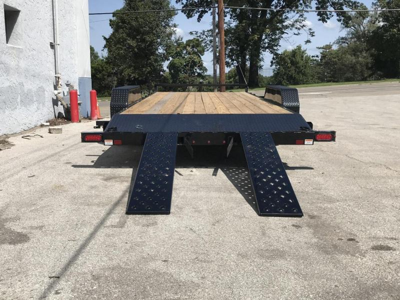 STCH8220TA3 --- 2021 Sure-Trac 82x20' Wood Deck Car Hauler - 10k #ST4787