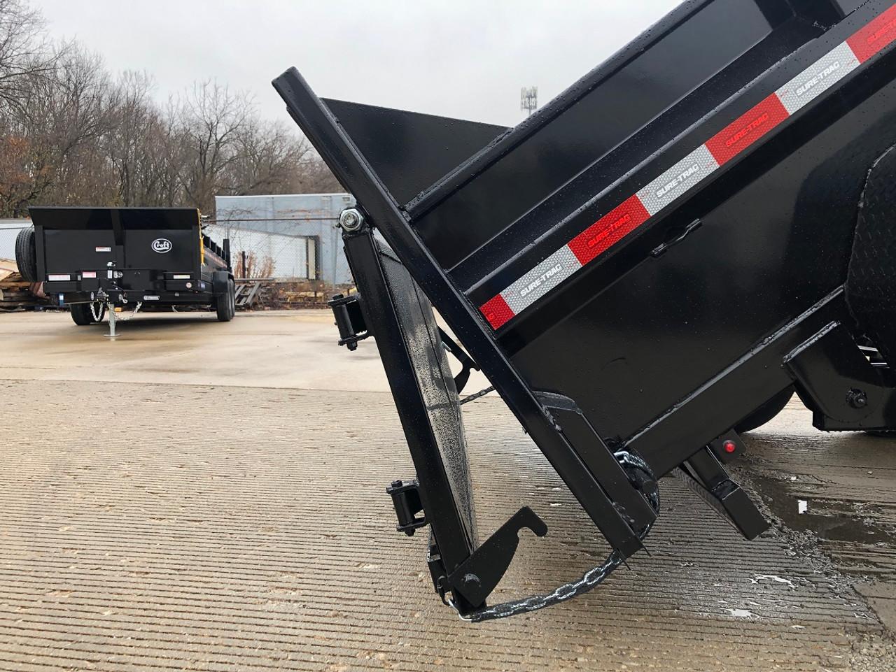 STD8012TA4 --- 2021 Sure-Trac 80x12' HD Low Pro Dump Trailer- 12k #ST7016