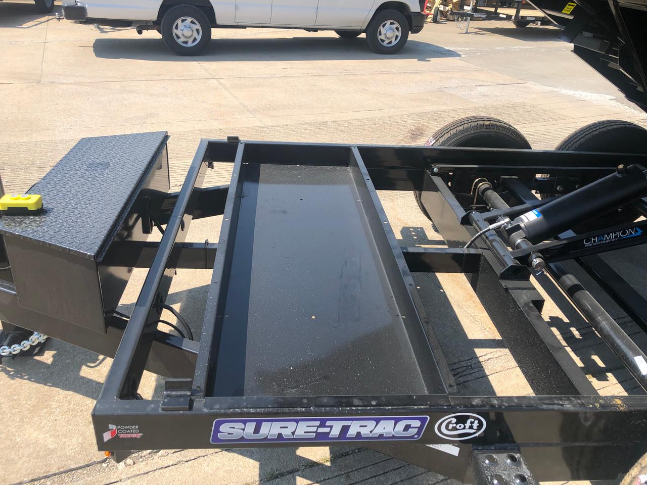 STD8012TA4 --- 2022 Sure-Trac 80x12' HD Low Pro Dump Trailer- 12k #ST6360