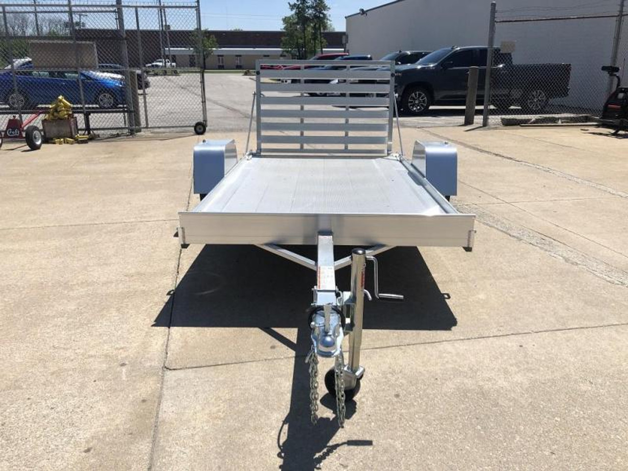 AL6310 --- 2021 Aluma 63x10' Aluminum Utility Trailer #AL6755