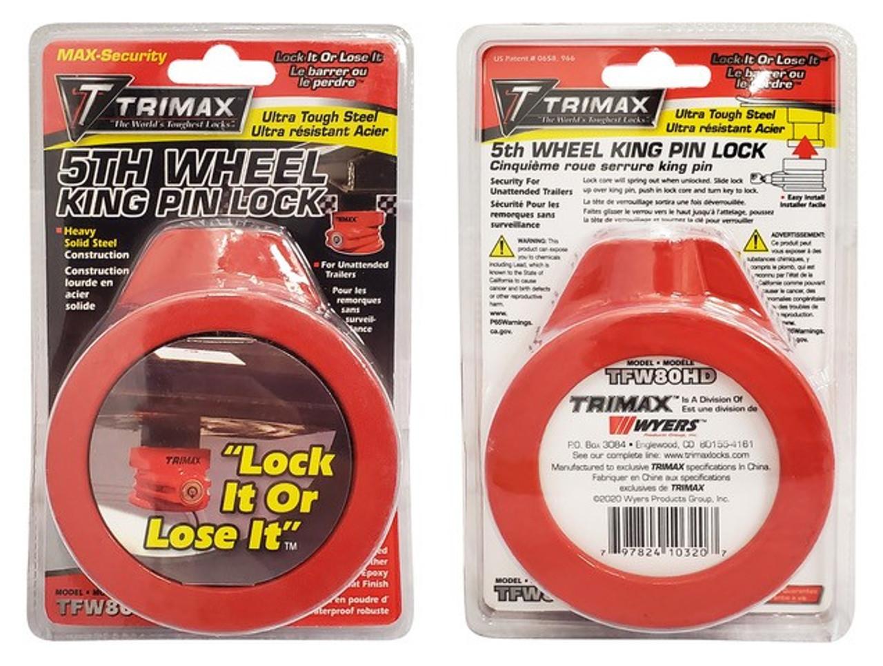 TFW80HD --- Trimax™ Ultra Tough King Pin Lock
