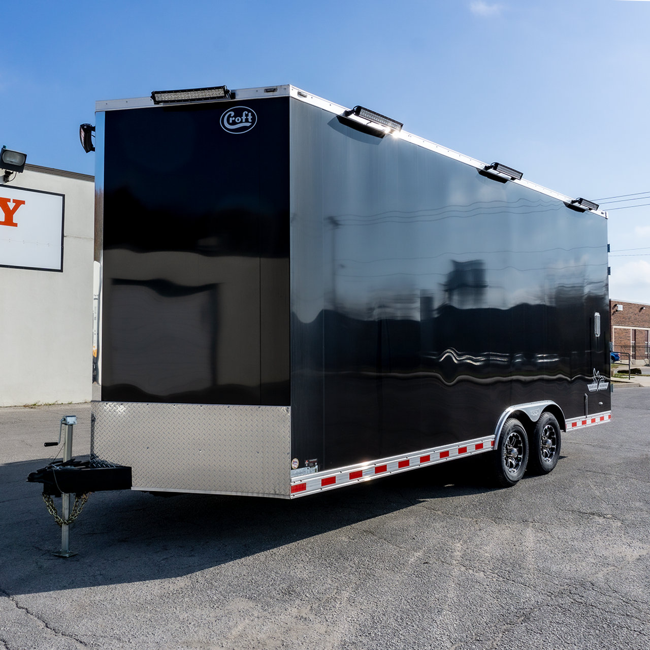 Heartland Waterfowl Edition --- 2020 Bravo 8.5'x20' Enclosed Cargo Trailer - BR2183