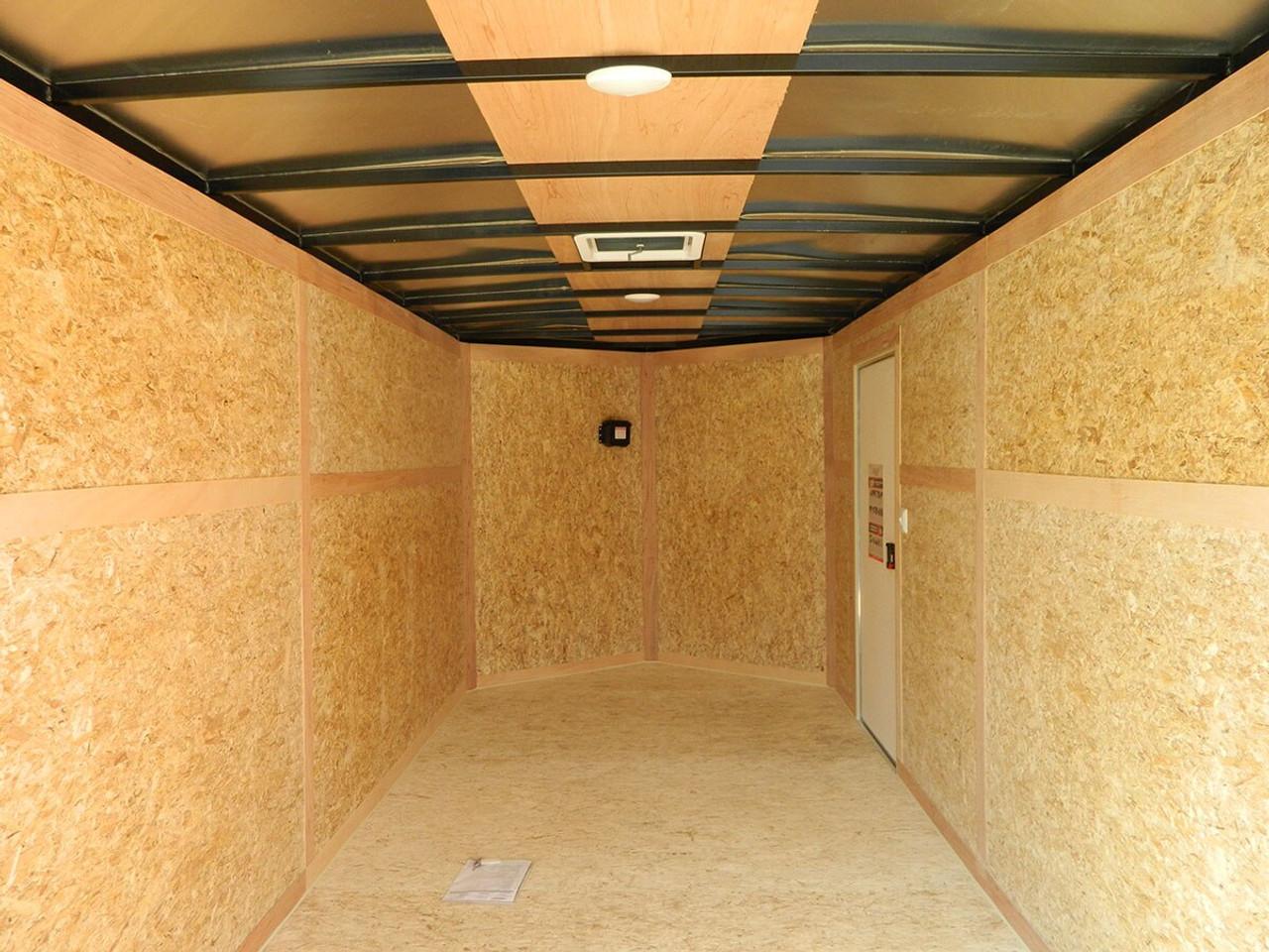 SC716TA2DRDGT --- 2022 Bravo 7'X16' Enclosed w/ Ramp Door #BR7120