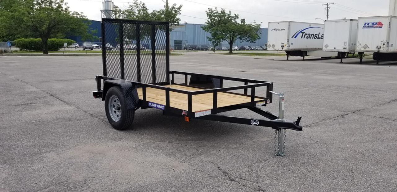 STR5080G --- 2021 Sure-Trac 5'x8' Utility Trailer #ST3907