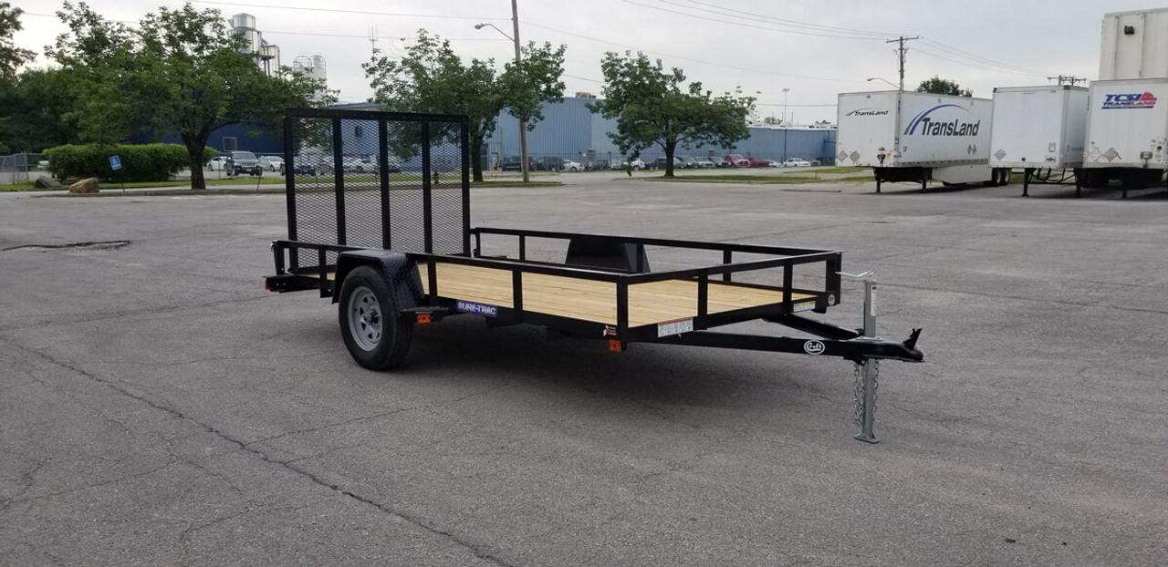 STR612G --- 2021 Sure-Trac 6'x12' Utility Trailer - #ST3407