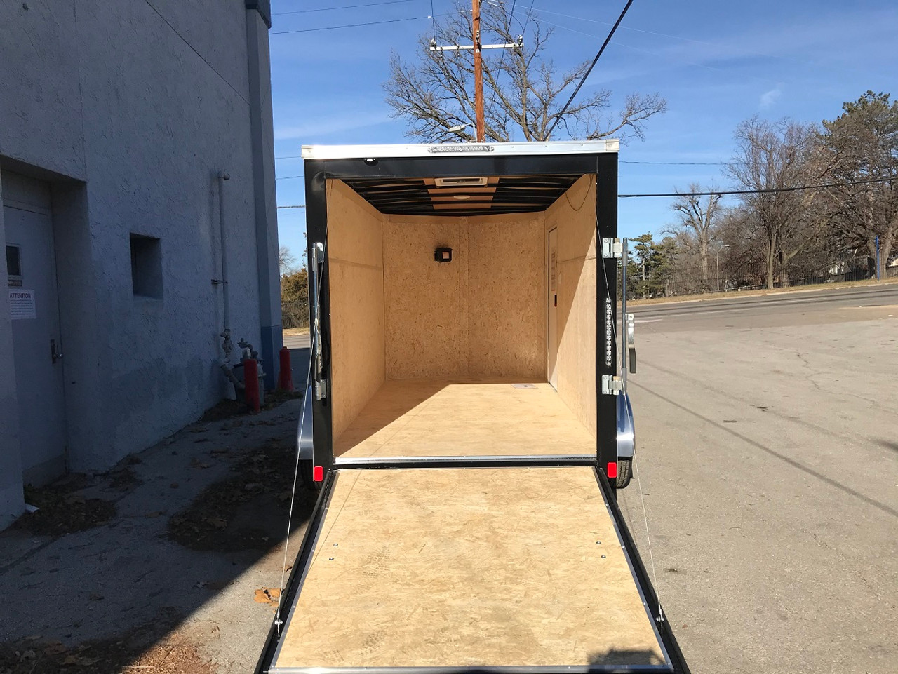 SC612TA2DRDSS --- 2021 Bravo 6'x12' SS Enclosed w/ Ramp Door #BR5631