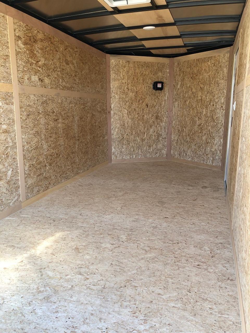 SC714TA2DRDSS --- 2021 Bravo 7'x14' SS Enclosed w/ Ramp Door #BR5365