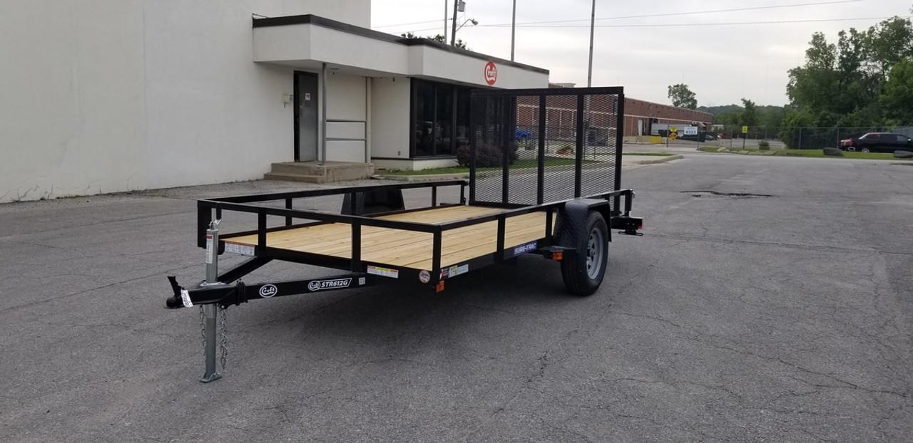 STR612G --- 2021 Sure-Trac 6'x12' Utility Trailer - #ST4847