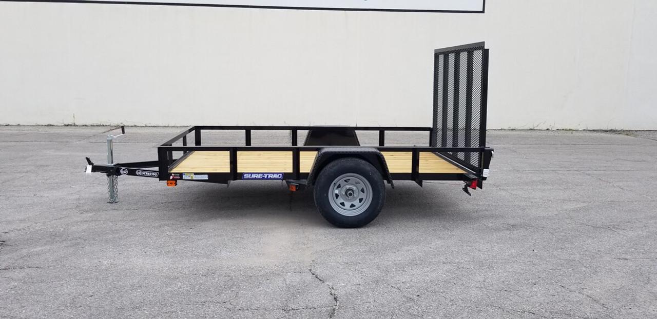 STR6010G --- 2021 Sure-Trac 6'x10' Utility Trailer #ST4885