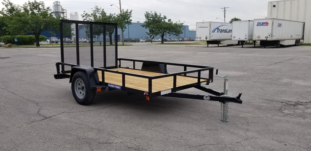 STR6010G --- 2021 Sure-Trac 6'x10' Utility Trailer #ST4886