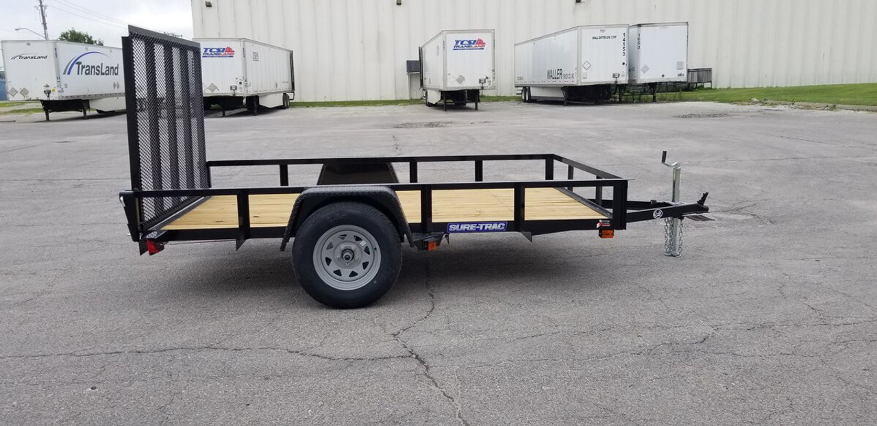 STR6010G --- 2021 Sure-Trac 6'x10' Utility Trailer #ST4887