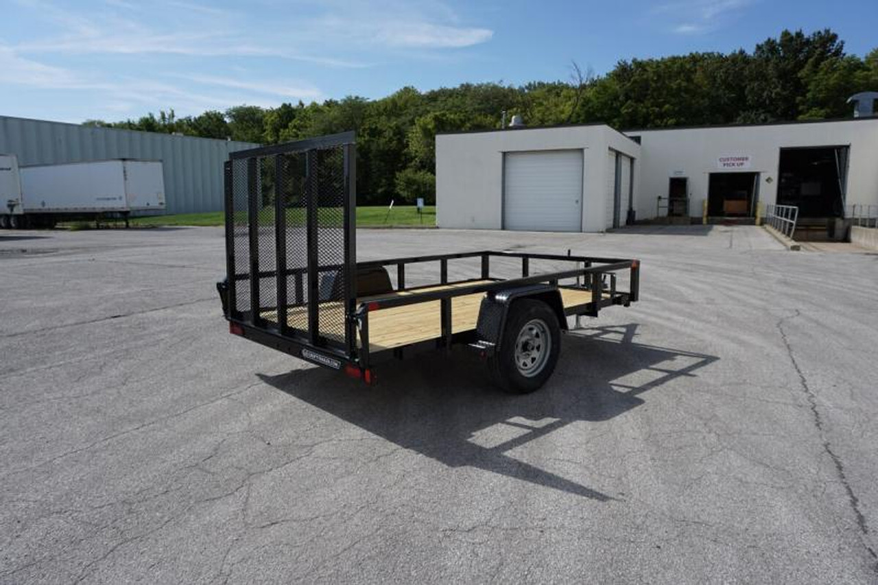 STR6010GT --- 2021 Sure-Trac 6'x10' Tube Top Utility Trailer #ST4889