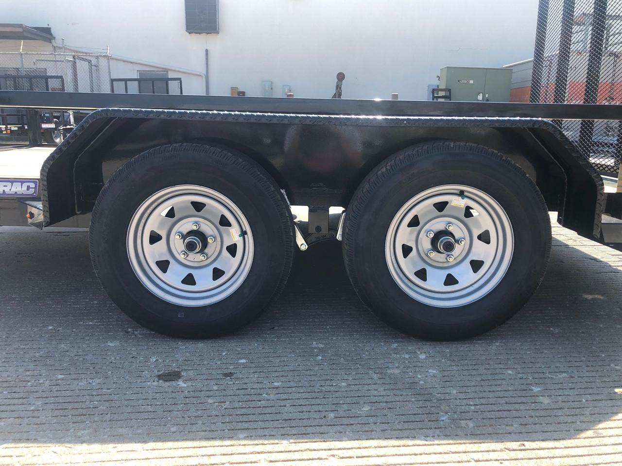 STR8212GT-E2 --- 2021 Sure-Trac 82x12' Tube Top Utility Trailer w/ Brakes - #ST4537
