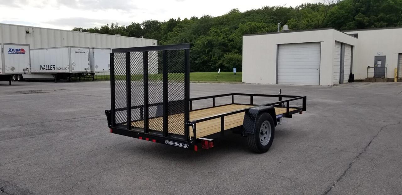 STR612G --- 2021 Sure-Trac 6'x12' Utility Trailer - #ST4671