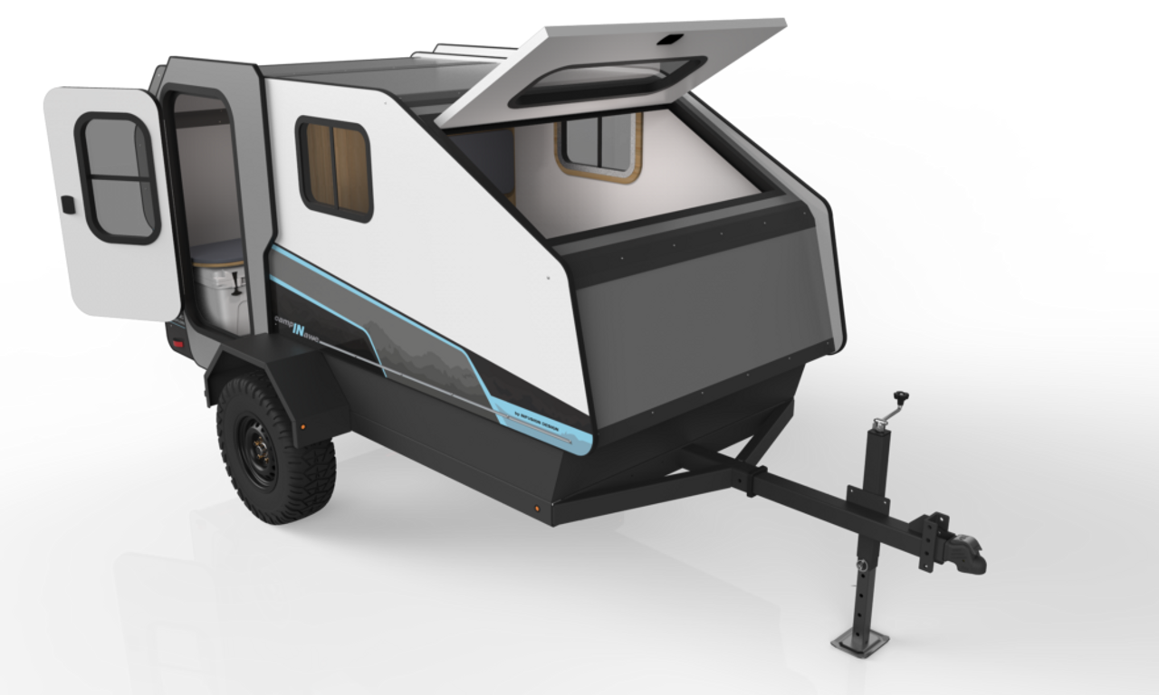 CAMPINAWE --- Tow Behind Trailer Camper