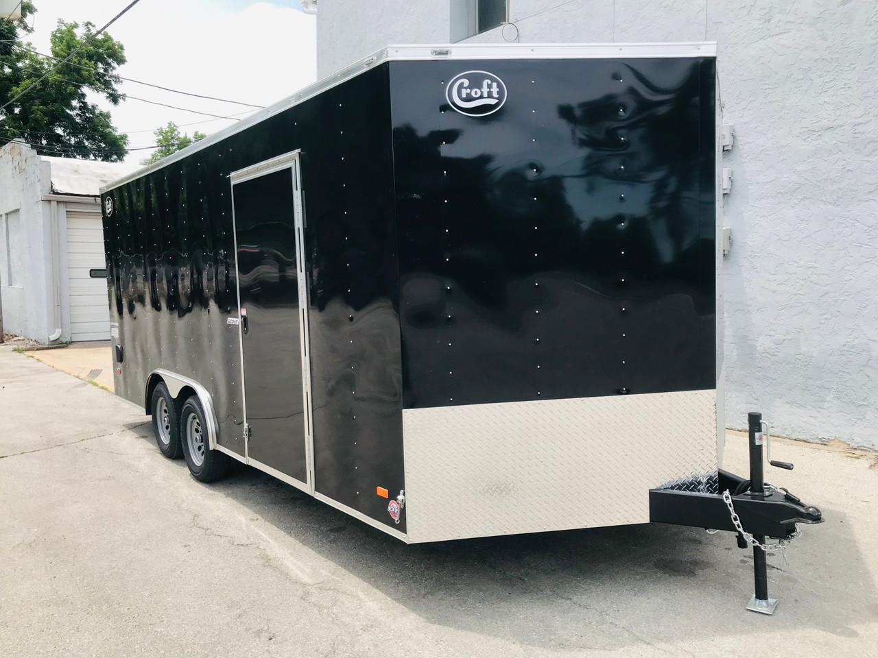 SC10218TA2DRD --- 2021 Bravo 8.5'x18' Enclosed Cargo Trailer #BR7124