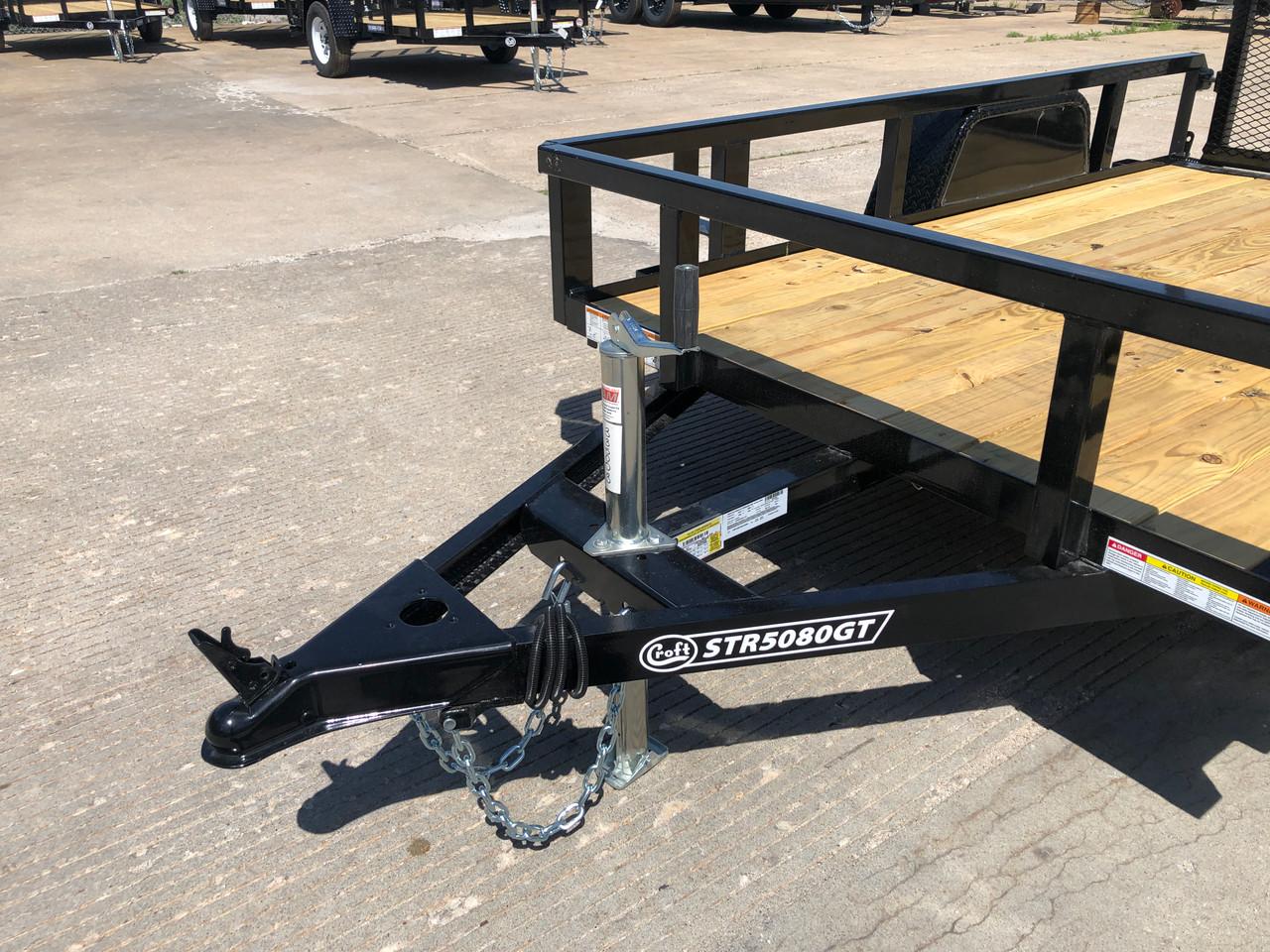STR5080GT --- 2022 Sure-Trac 5'x8' Tube Top Utility Trailer #ST5003