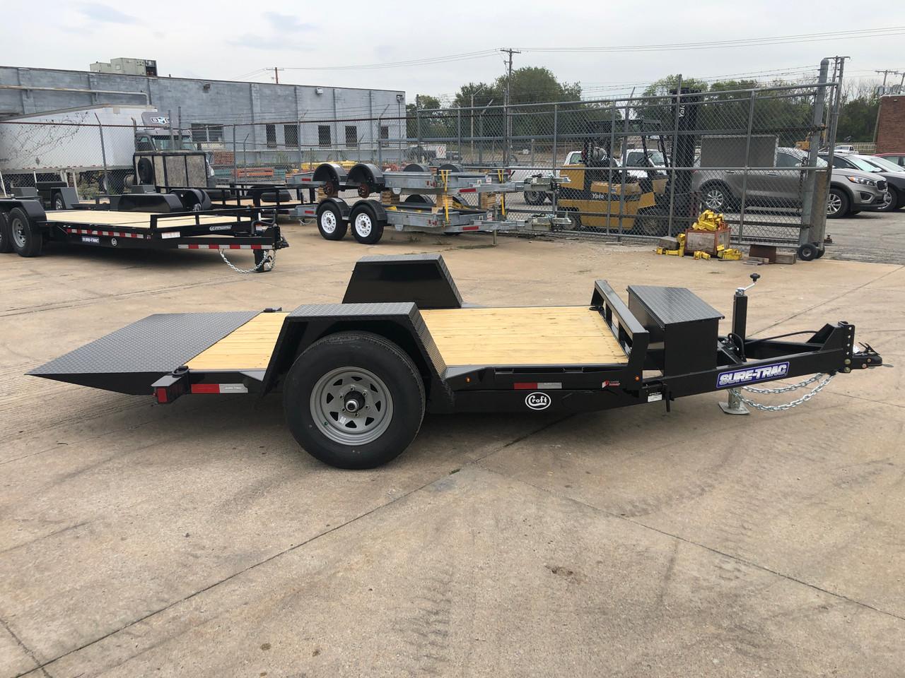 CT5010TSA4EL --- 2022 Sure-Trac 5' x 10' Pan Tilt-Bed with Electric Brakes - ST7346