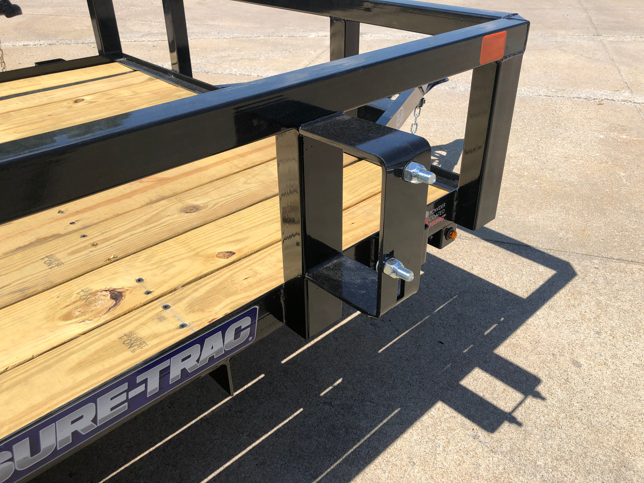 STR712GT --- 2022 Sure-Trac 7'x12' Tube Top Utility Trailer #ST4967