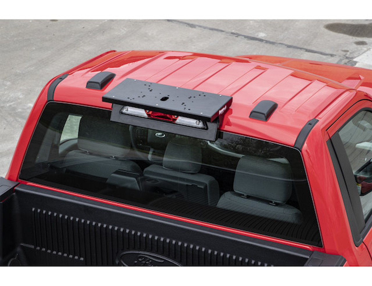 8895560 --- Fleet Series Drill-Free Light Bar Cab Mount - Ford