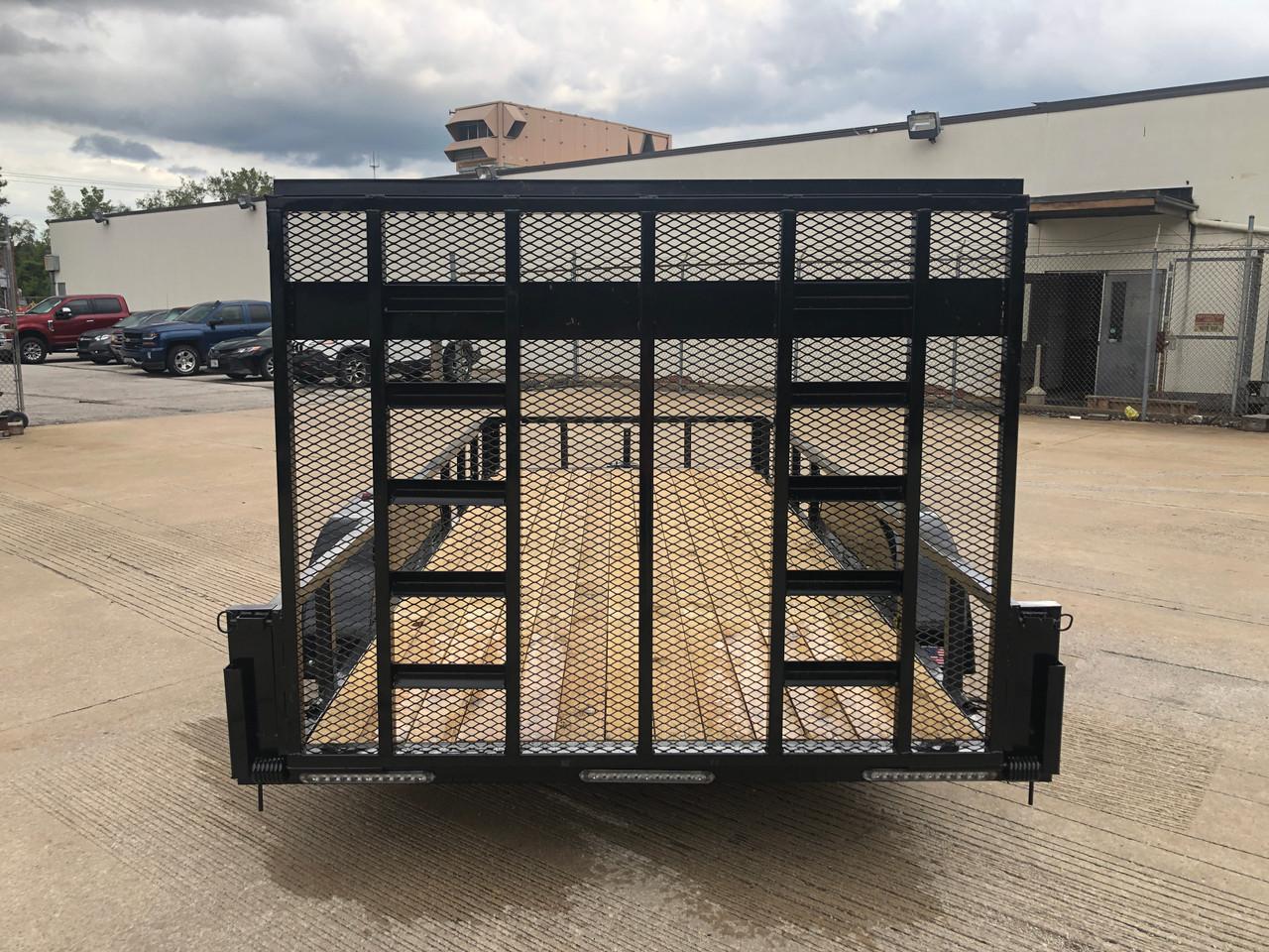 R8216GT-E1 --- 2022 Rhino 80'x16' Tube Top Tandem Axle Utility Trailer #R3080