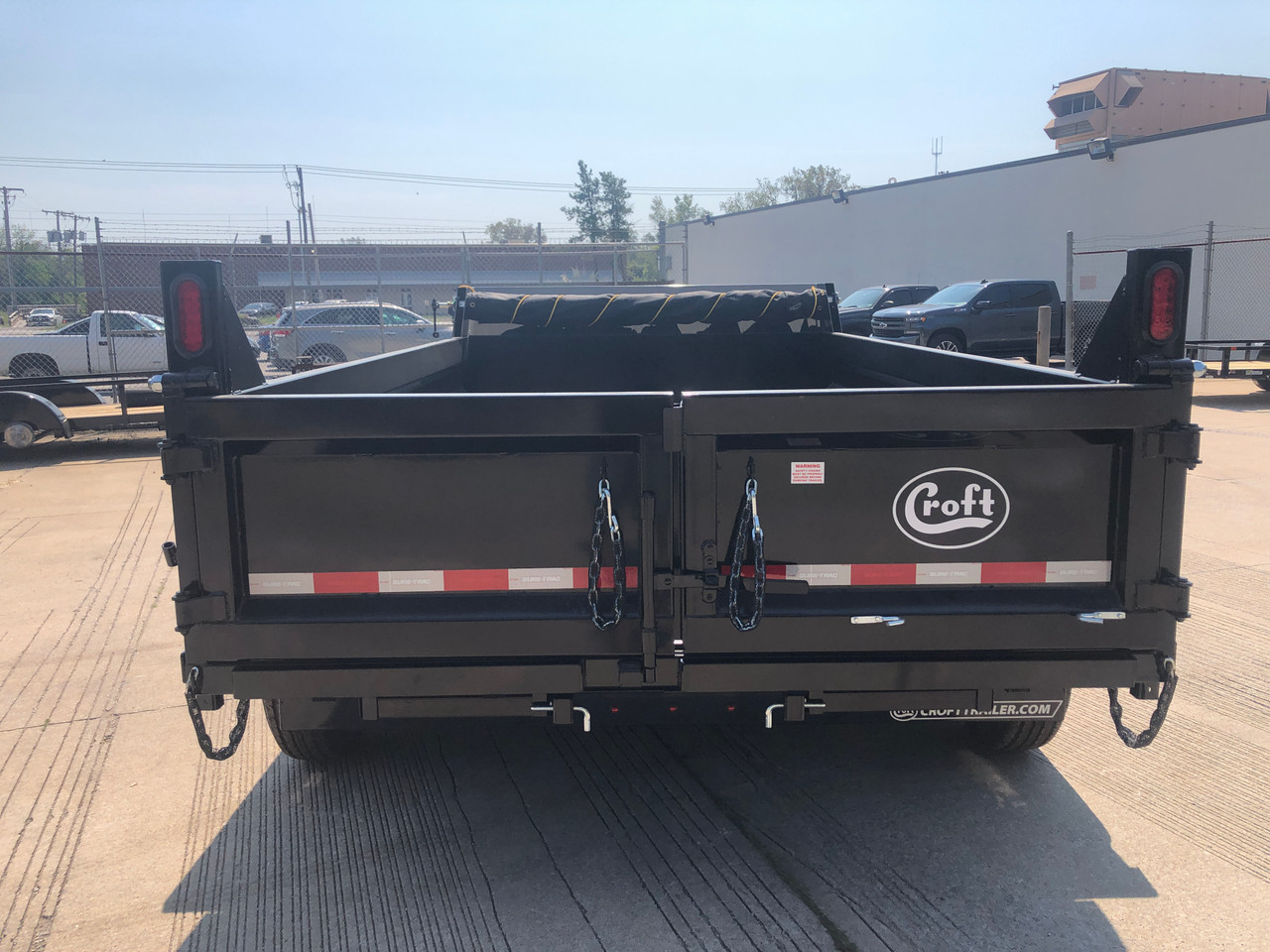 STD8012TA4 --- 2022 Sure-Trac 80x12' HD Low Pro Dump Trailer- 12k #ST6359