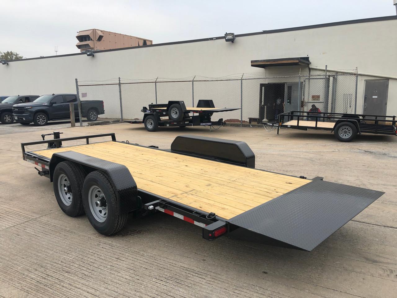 STET8218TA5 --- 2022 Sure-Trac 82x18' Equipment Tilt Trailer - 14k #ST7340