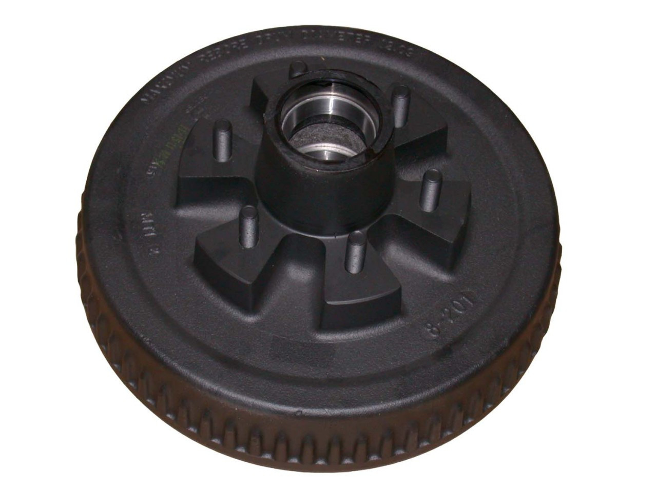"""65542HD --- 6 on 5-1/2"""" Hub and Drum Only - 6,000 lb"""