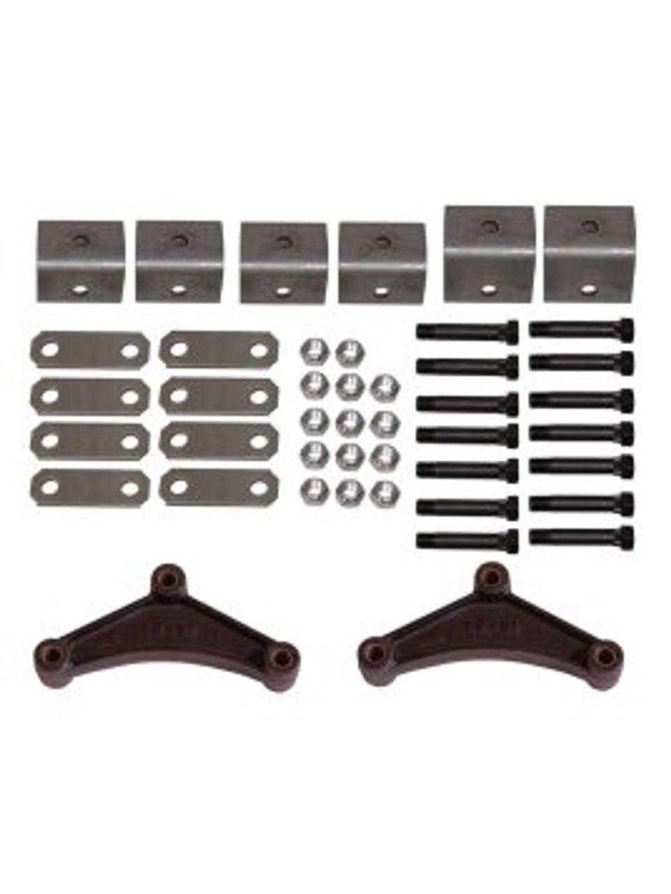 "HK2 --- Tandem Axle Hanger Kit for 1-3/4"" Wide Double Eye Spring"