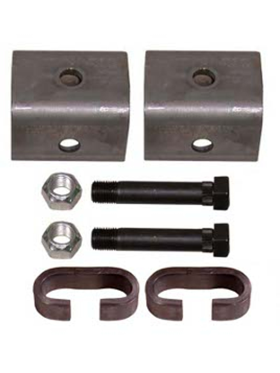 "SHK1 --- Single Axle Hanger Kit for 1-3/4"" Wide Slipper Spring"