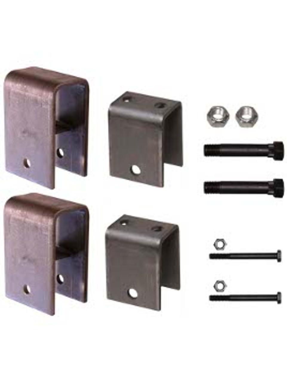 """SSHK1 --- Single Axle Hanger Kit for 2"""" Wide Slipper Spring"""