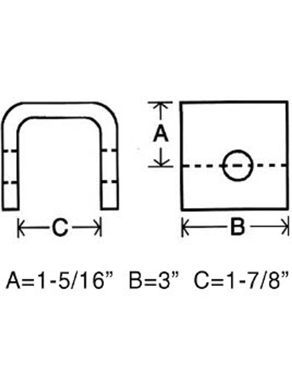 SP134 --- Front or Rear Hanger