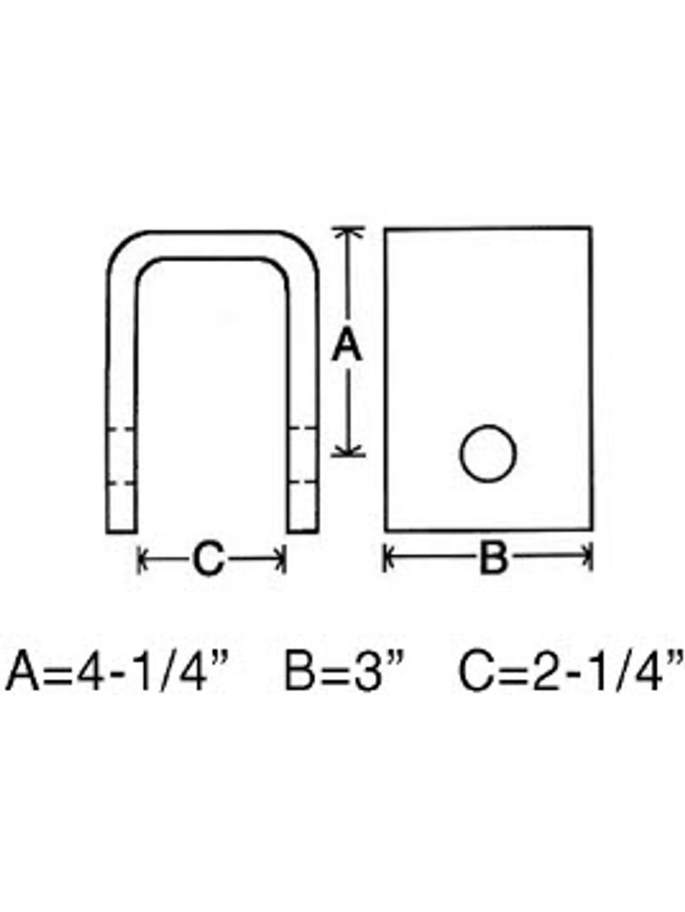 FH281 --- Front Slipper Hanger - Standard Duty