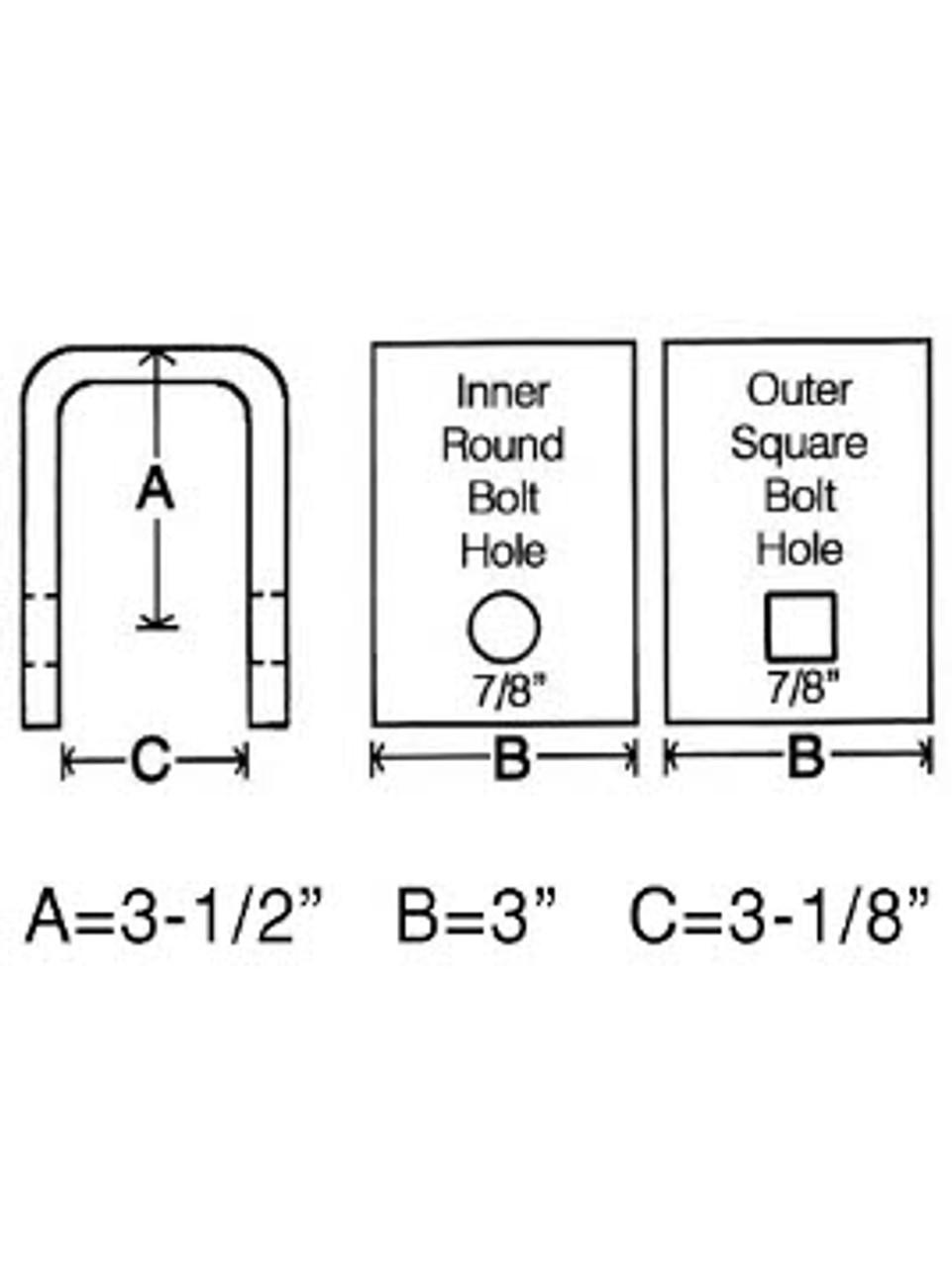 CH291 --- Center Hanger for Equalizer - Standard Duty